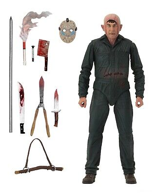 Friday the 13th- 7 Scale Action Figure - Ultimate Part 5 Roy Burns - NECA
