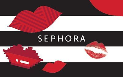 Sephora Gift Card - 25 50 or 100 - Email delivery