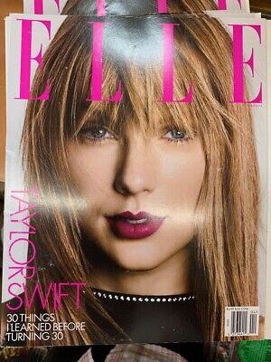 Elle Magazine USA Taylor Swift April 2019 Ships Today Great Deal