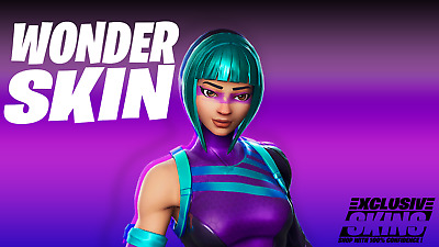 ⭐️247 SHOPPING⭐️ FORTNITE WONDER SKIN OUTFIT EXCLUSIVE XBOX ONE PS4 PC EPIC ⭐