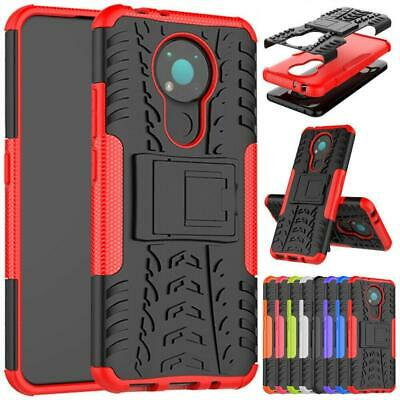 For Nokia 2-4 3-4 1-3 5-3 2-3 6-2 7-2 Armor Shockproof Stand Phone Case Cover