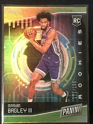 2018 Panini Cyber Monday Marvin Bagley III Rookies RC SP 'd175199