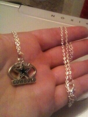 DALLAS COWBOYS CHARM NECKLACE FREE SHIPPING