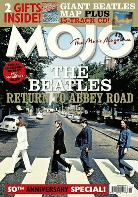 MOJO MAGAZINE The Beatles 50th Anniversary Special Edition October 2019