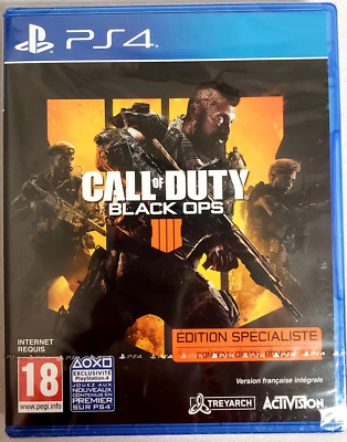 Call of Duty Black Ops 4 PS4 Sony PlayStation 4 2018 Brand New - Region Free