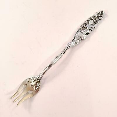 Antique Dominick - Haff Sterling Seafood Fork Labors of Cupid
