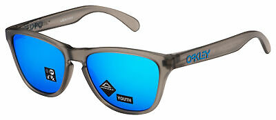 Oakley Frogskins XS Sunglasses OJ9006-0553 Grey Ink  Prizm Sapphire Lens Youth