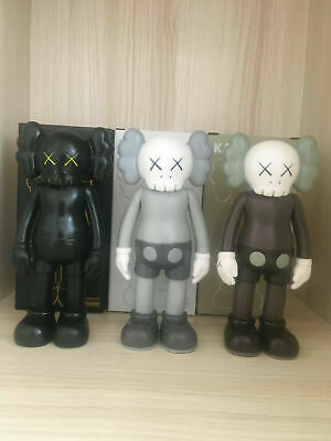 8 OriginalFake 2018 KAWS Flayed Open Half Dissected Companion Vinyl Figures Set
