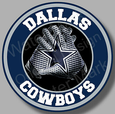 Dallas Cowboys Vinyl Sticker Decal 8 Different Sizes Car Windows NFL football