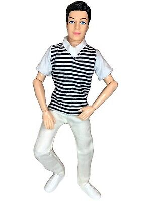 12 Prince Boy Doll Articulated Jointed Posable 14 Joints with Outfit - Shoes