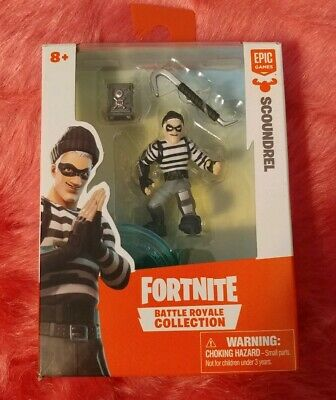 NEW Fortnite Battle Royale Collection scoundrel Solo Pack Mini Figure Epic