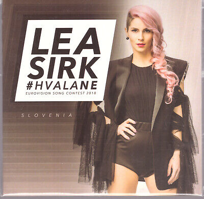 Eurovision 2018 Slovenia Lea Sirk CD Single Hvala Ne