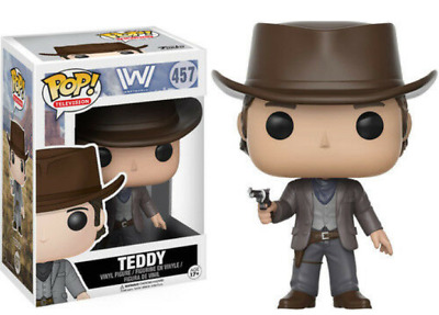 Funko Pop West World Teddy 457 Vinyl Figure In Stock