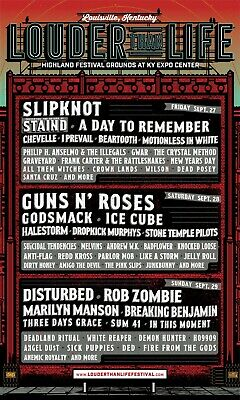 3-DAY GA Louder Than Life Tickets - General Admission Weekend Electronic Ticket