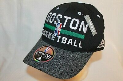 Boston Celtics Hat Cap Official NBA Flexfit Cap Adidas NBA