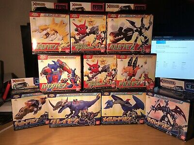 Digimon Fusion XCros Lot of 10  completed