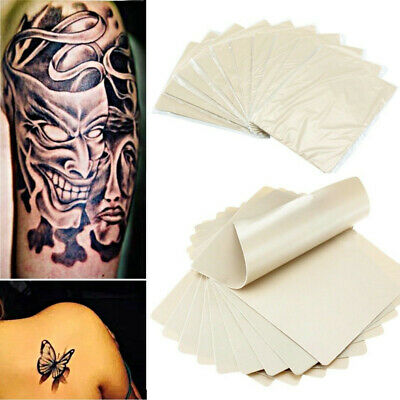 10pcs Dual Sided 8 x 6 Tattoo Practice Skin Assorted Blank For Needle Gun