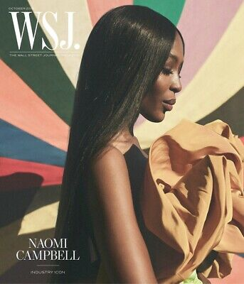 WSJ-The Wall Street Journal Magazine-NAOMI CAMPBELL-OCTOBER 2019-Brand New