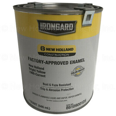 New Holland Bright Yellow 1999-Current 1-Qt Paint Part  86109001DS