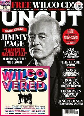 UNCUT MAGAZINE-JIMMY PAGE-VILCO WERED CD-NOVEMBER 2019-World Exclusive-Brand New