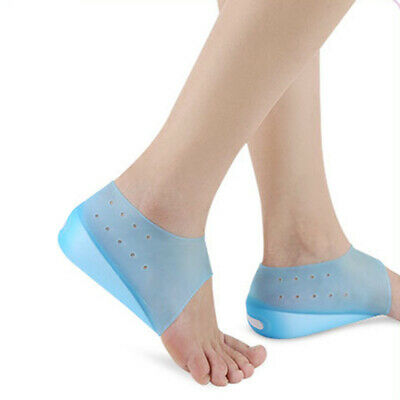 2-3cm Invisible Height Lift Heel Pad Sock Liners Increase Insole Men Women