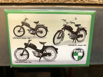 Magnet - Puch MS 50 Stangl Puch - 76x52mm