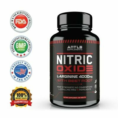 Nitric Oxide L-Arginine Pre Workout-Testosterone BoosterMuscle PillAmino Acid
