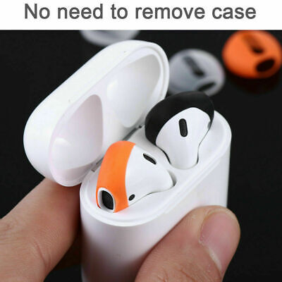 1 Pair Earpods Airpod Cover Case Compatible with airpods 2-1 Anti-Slip Silicone