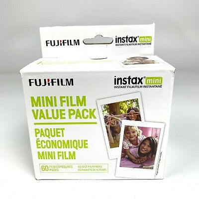 New FujiFilm Instax Mini Film Value Pack - 60 Exposures