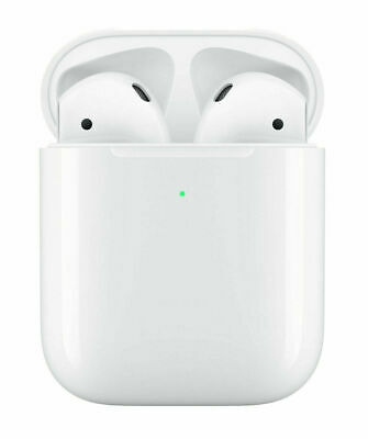 Apple AirPods 2 2nd Generation with Wireless Charging Case - White - MRXJ2AMA