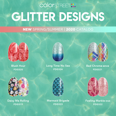 Color Street Nail Strips Buy 3 Get the 4th set FREE  FREE SHIPPING