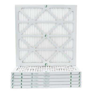 1 Inch Glasfloss ZL MERV 10 Pleated Air Filters for AC - Furnace-  6 Pack