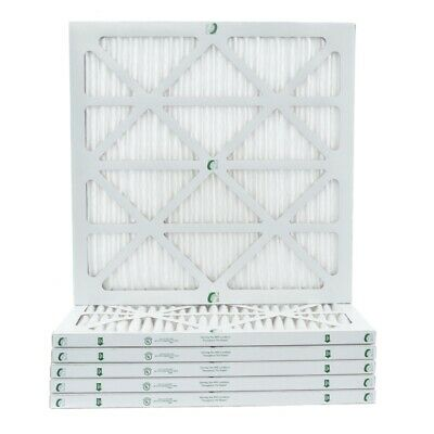 1 Inch Glasfloss ZL MERV 10 Pleated Air Filters for AC - Furnace-  Case of 12
