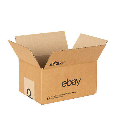 eBay-Branded Boxes With Black Color Logo 8 x 6 x 4