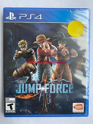 Jump force PS4 New Sealed Standard Edition FastShip w Tracking