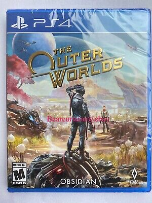 The Outer Worlds PS4 Brand New Factory Sealed Fast Ship with Tracking