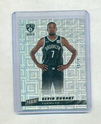 2019 Panini Cyber Monday Kevin Durant Nets Escher Squares Prizm 910 R4