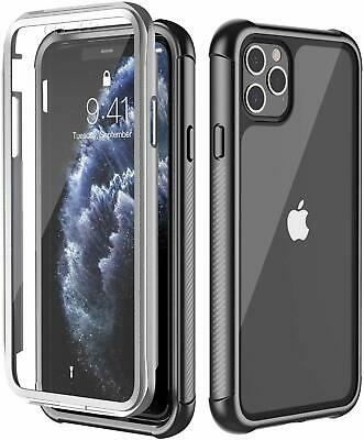 For Apple iPhone 11 Pro Max Shockproof Waterproof Case cover w Screen Protector