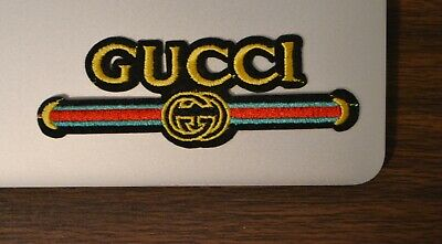 Gucci Style Vintage Iron On AppliqueEmbroidered Patch Fabric Craft Sew Lot