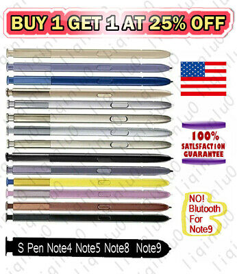 For Samsung Galaxy Note 9 Note 8 5 Touch Stylus S Pen Cellphone Multi-Color OEM
