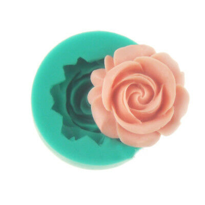 New 1PC Small 3D Rose Flower DIY Cake Chocolate Soap Molds Silicone Tools Mould