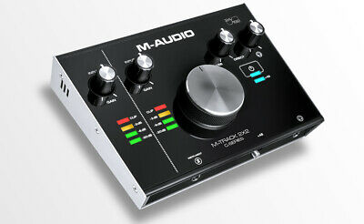 M-Audio M-Track 2X2 2 In  2 Out 24192 USB Audio Interface