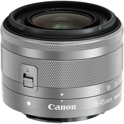 New Canon EF-M 15-45mm F3-5-6-3 IS STM Lens for EOS M - Brand New - USA Ship