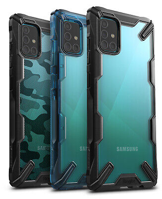 For Samsung Galaxy A51  A71 4G  LTE Case Ringke FUSION-X Cover Not for 5G