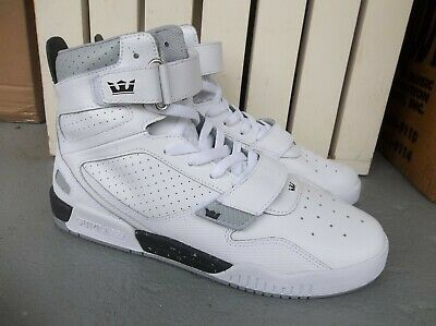 NWT MENS SUPRA BREAKER HI TOP LEATHER SNEAKERSSHOES SIZE 9-BRAND NEW FOR 2020