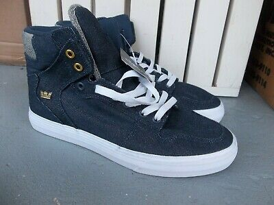NWT MENS SUPRA VAIDER TEXTILE SNEAKERSSHOES SIZE 9-BRAND NEW FOR 2020 SALE