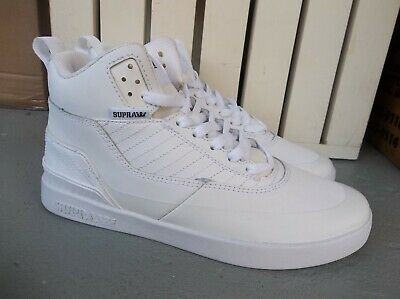 NWT MENS SUPRA PENNY PRO LEATHER SNEAKERSSHOES SIZE 9-BRAND NEW FOR 2020