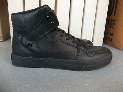 NWT MENS SUPRA VAIDER LEATHER SNEAKERSSHOES SIZE 9-BRAND NEW FOR 2020 SALE