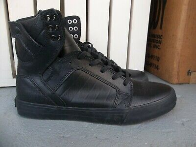 NWT MENS SUPRA SKYTOP LEATHER SNEAKERSSHOES SIZE 9-BRAND NEW FOR 2020 WOW