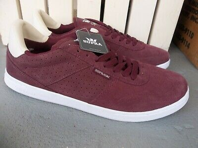 NWT MENS SUPRA ELEVATE SNEAKERSSHOES SIZE 9-WINE-BRAND NEW FOR 2020